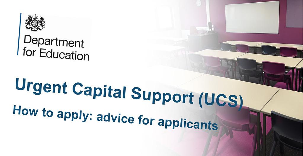 Urgent Capital Support Funding (UCS)
